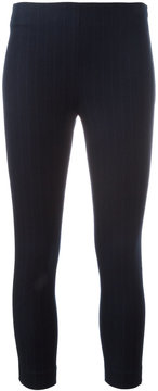 Joseph pinstriped cropped leggings