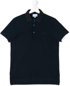Lanvin Enfant Teen logo polo shirt