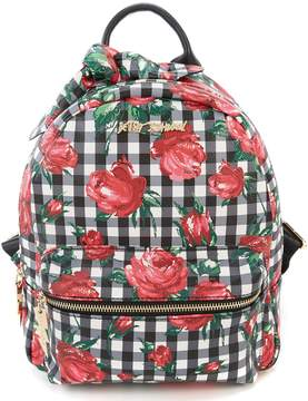Betsey Johnson Gingham Backpack