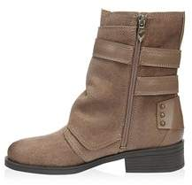 Fergie Womens Neptune Leather Almond Toe Ankle Fashion Boots.