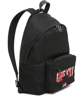 Givenchy Logo Star Backpack