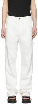 Simon Miller White Ashland Carpenter Jeans