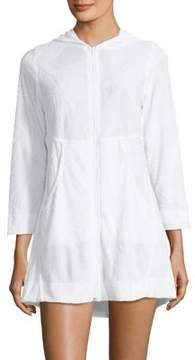 J Valdi Plush Hooded Cover-Up