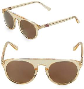 Westward Leaning Women's Atlas 50MM Transparent Sunglasses