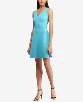 American Living Textured V-Neck Dress