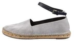 Celine Woven Ankle Strap Espadrilles