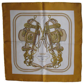 One Kings Lane Vintage HermAs Brides de Gala Pochette Scarf - The Emporium Ltd.