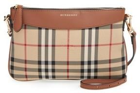 Burberry 'Peyton - Horseferry Check' Crossbody Bag - Brown - BROWN - STYLE