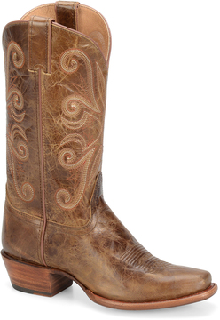 Sonora Copper Maya Leather Cowboy Boot