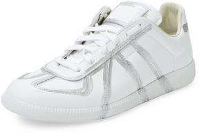 Maison Margiela Men's Replica Metallic Low-Top Sneaker