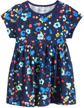 First Impressions Floral-Print Cotton Babydoll Tunic, Baby Girls (0-24 months), Created for Macy's