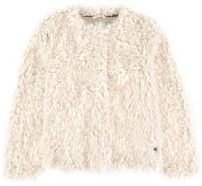 Pepe Jeans Faux fur jacket