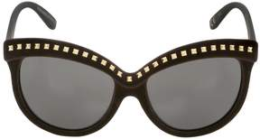 Italia Independent I-Top Velvet Sunglasses With Studs