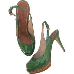 Sebastian Patent leather sandals