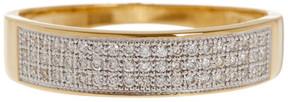 Bony Levy 18K Yellow Gold Diamond Band Ring - 0.17 ctw