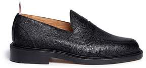Thom Browne Pebble grain leather penny loafers