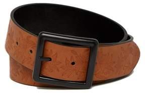 Steve Madden Floral Embossed Belt