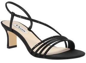 Nina Mh Satin Asymetrical Sandal.