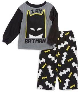 AME Sleepwear Little Boy's Two-Piece Batman Pajama Set