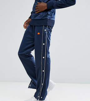 Ellesse Poly Tricot Popper Joggers