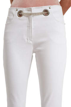 BRIGITTE Miaou Crystal Belt Jeans