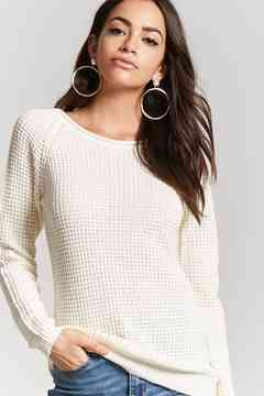 Forever 21 Ribbed Knit Form-Fitting Sweater