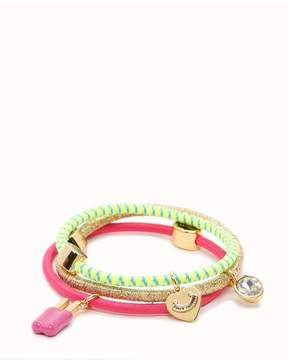 Juicy Couture Set of 3 Popsicle Charm Hair Elastics