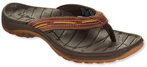L.L. Bean L.L.Bean Women's Freeport 1912 Flip-Flop Sandals, Leather