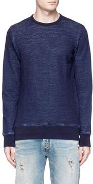 Denham Jeans Elbow patch sweatshirt