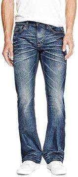 GUESS Men's Regular Bootcut Jeans