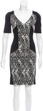 Matthew Williamson Printed Bodycon Dress w/ Tags
