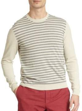 Incotex Striped Crewneck Top