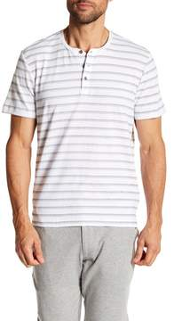 Kenneth Cole New York Striped Dot Henley Tee