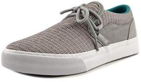 Supra Cuba Women Round Toe Canvas Gray Skate Shoe.