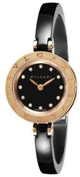 Bulgari BZero1 BZ23BSGCC12M Pink Gold With Diamonds 23mm Watch
