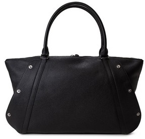 Akris Small Aimee Leather Satchel - Black