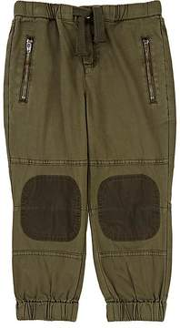 Stella McCartney Kids' Knee-Patch Cotton Twill Pants