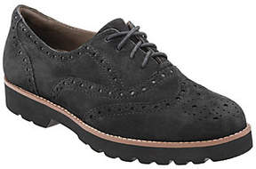 Earth Earthies Lace-up Leather Oxfords - Santana