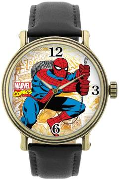 Marvel Spider-Man Leather Watch
