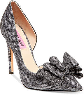 Betsey Johnson Prince d'Orsay Evening Pumps Women's Shoes
