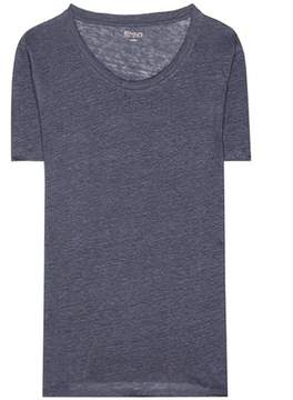 81 Hours 81hours Pepper linen T-shirt