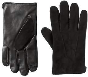 Banana Republic Deerskin Suede & Leather Texting Gloves