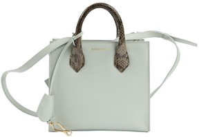 Balenciaga All Afternoon Blue Leather Handbag