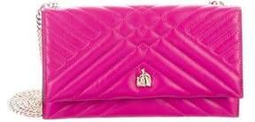 Lanvin Quilted Wallet On Chain