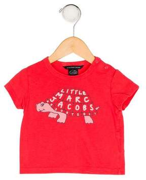 Little Marc Jacobs Girls' Printed Knit Top