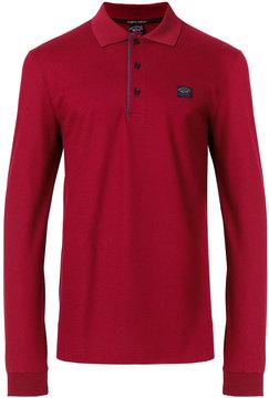 Paul & Shark long sleeved polo shirt
