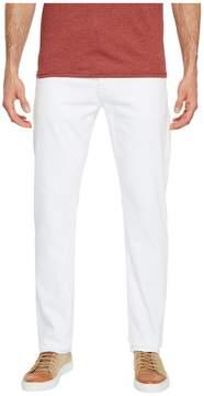 AG Adriano Goldschmied Everett Slim Straight Leg Denim in White Men's Jeans