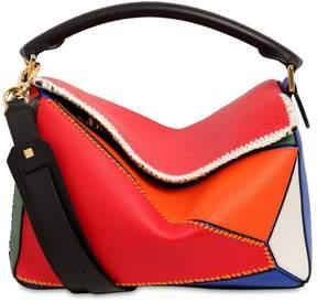 Loewe Medium Puzzle Patchwork Leather Bag