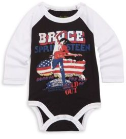 Rowdy Sprout Baby's Bruce Springsteen Cotton Bodysuit