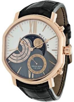 Bvlgari Daniel Roth Grand Lune 18K Rose Gold Men's Watch